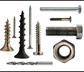 screws, nails, bolts and fixings